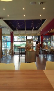 Szederinda étterem belső