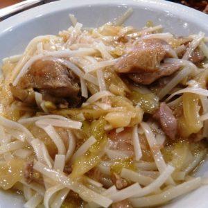 Bami goreng gluténmentes