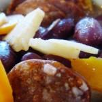 Csorizó kolbászos vörösbableves
