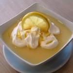 Gluténmentes citrusos krémleves