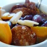 csorizó kolbászos vörösbableves gluténmentes