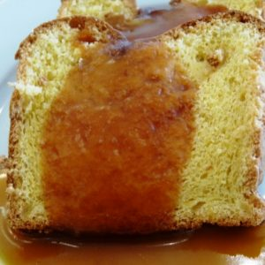 Francia almatorta karamell mártásban gluténmentes