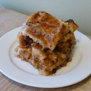 kenyérpuding gluténmentes