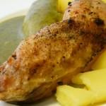 sült csirkecomb gluténmentes